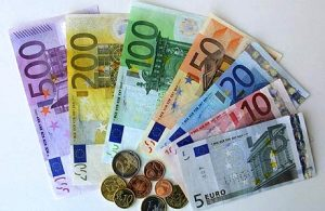 Pieniądze, waluta, wydatki, napiwki, CostaBlanca