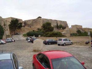 Upadek z zamku w Alicante, CostaBlanca