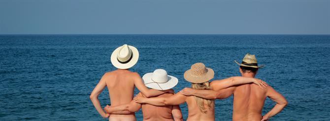 Najlepsze Plaże dla Nudystów, CostaBlanca